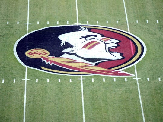 The Florida State Seminoles logo.