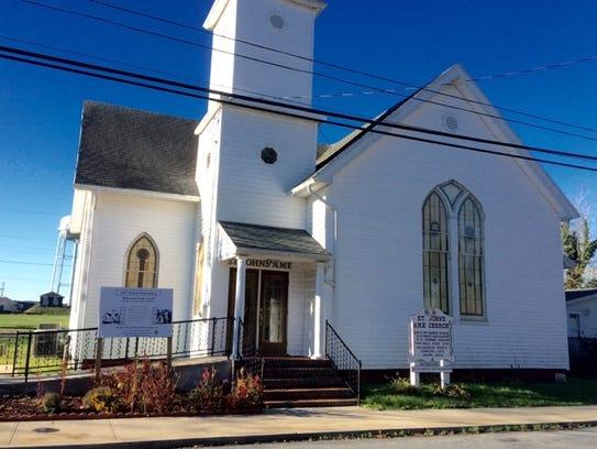 St. John's AME Church in Pocomoke City, where Butler's