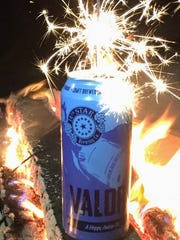 A can of Valor Ale from St. Albans-based 14th Star