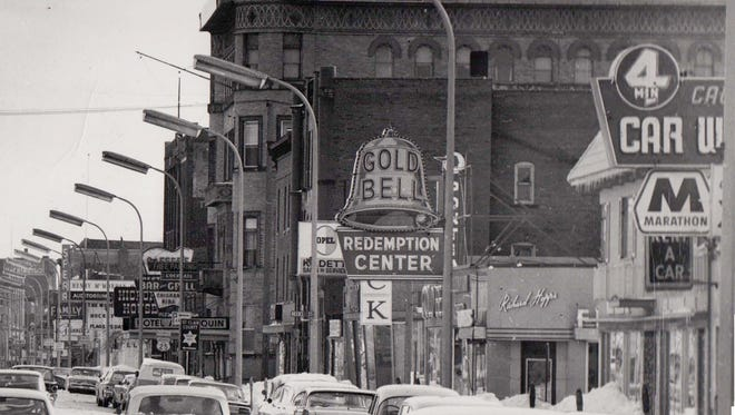Huron Avenue in the 1960s