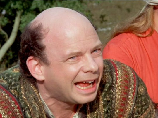 "Wallace Shawn in ""The Princess Bride."""