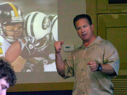 Dr. Julian Bailes, concussion seminar, Tuesday, Aug. 7, 2012-Melinda Martinez/mmartinez@thetowntak.com