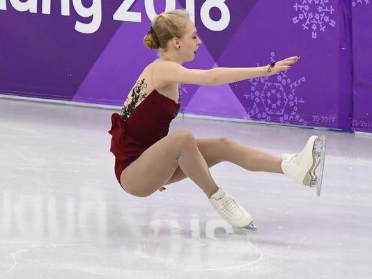USP OLYMPICS: FIGURE SKATING-WOMENS SHORT PROGRAM S OLY KOR