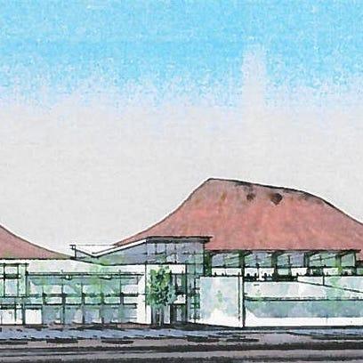 Rendering of Rocky Vista University building.