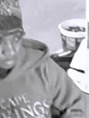 Police are looking for the man they believe robbed