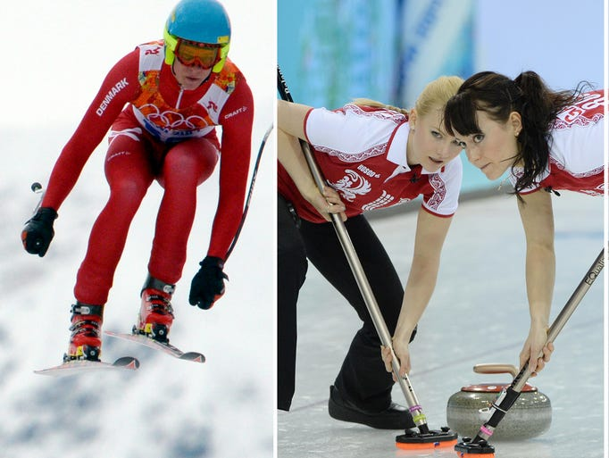 From downhill skiing to curling, figure skating and biathlon, here's an explainer of Olympic sports in photos.