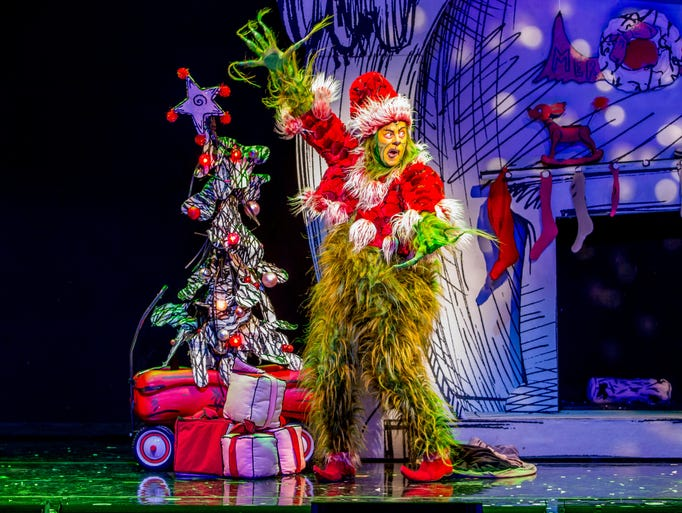 Shuler Hensley as the Grinch in the 2014 production