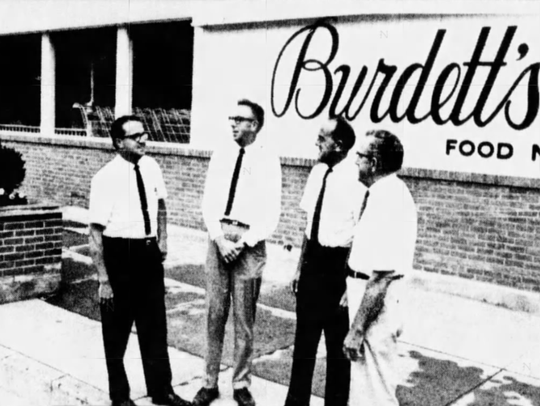 Oct. 8, 1967: Bob, Dick, Jim and their father James