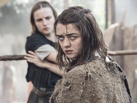 "Among the legions of characters on ""Game of Thrones,"" Arya has remained one of its most popular throughout the first five seasons of this epic fantasy set in the make-believe continent of Westeros."