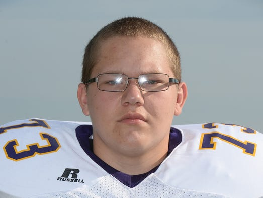 Hagerstown High School Football Austin Jones