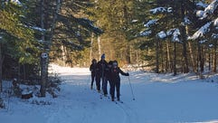 Minocqua Winter Park's trails are great for both beginners