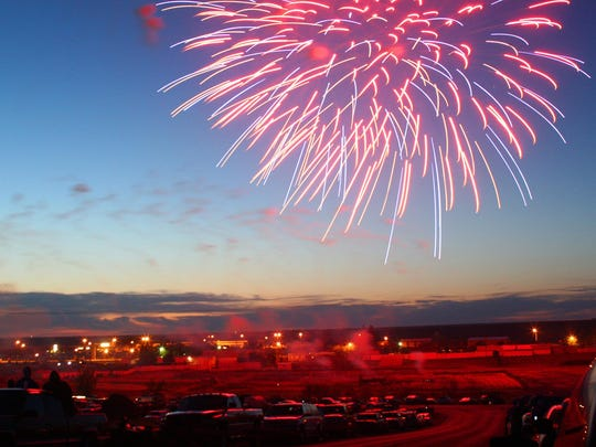 Havre's annual Fourth of July fireworks display presented by the Havre Jaycees is planned at dusk on Saturday.