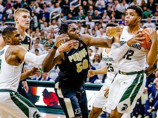 MSU vs Purdue Men's Basketball