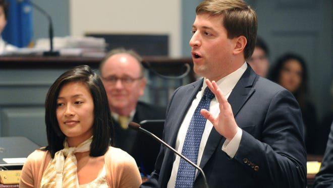 Sen. Bryan Townsend, D-Newark, has delayed debate on Senate legislation because of opposition from the U.S. Chamber of Commerce.