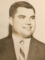 Dr. Ray W. Nicholson in 1958, when he started working