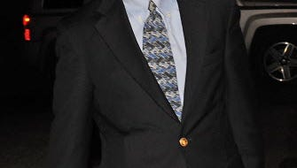 Former Bernard Madoff finance chief Frank DiPascali leaving Manhattan federal court trial on Dec. 4, 2013.