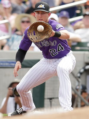 Rockies first baseman Ryan McMahon got his first taste of the majors last September. Now he's a member of their opening day roster.