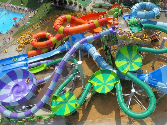 The Splash Lagoon Water Park at Beech Bend has added