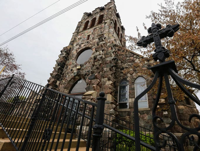 Old stone church to get new life as condos in historic - Exterior church crosses for sale ...