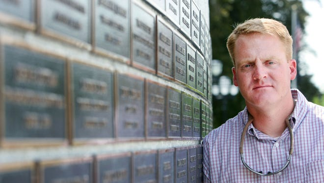 In this July 19, 2012 photo, Brody Young poses for a photo in Salt Lake City. Remains of a man police believe shot and wounded the state park ranger in 2010 and eluded more than 100 officers in a desert manhunt were found Thursday, Dec. 24, 2015, authorities said. (Steve Griffin /The Salt Lake Tribune via AP)