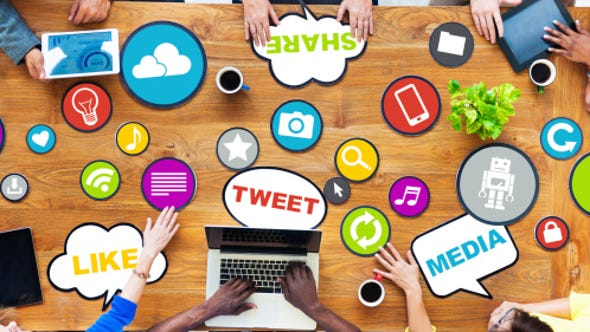 Social media can help businesses attract and retain