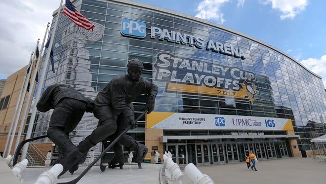 The Flyers make their final regular-season stop in Pittsburgh this season.