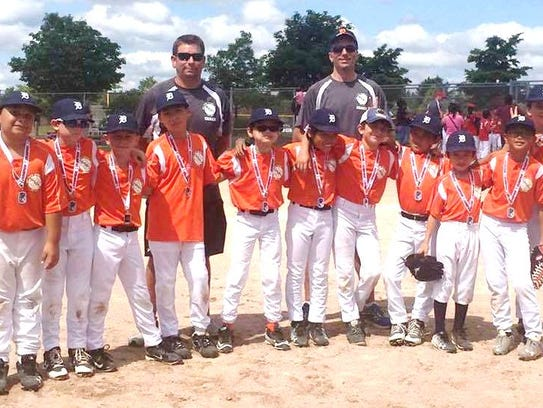 The Novi Youth Baseball League Tigers earned the Mustang