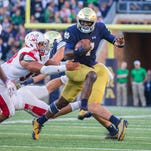 Brian Kelly: QB Brandon Wimbush is game day decision for Notre Dame