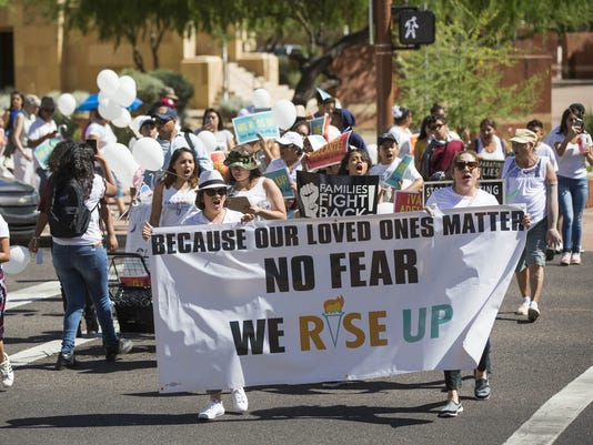Promise Arizona march and rally
