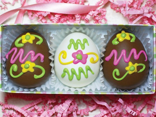 Easter offerings from La Chocolate Box.
