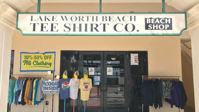 The Lake Worth Beach Tee Shirt Co. has been in operation since April 3, 1985.