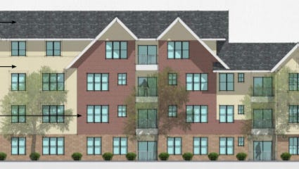 A 75-unit senior apartments development is being proposed for Elm Grove.