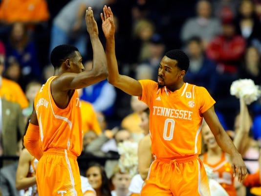 NCAA Basketball: SEC Conference Tournament-Tennessee vs Vanderbilt
