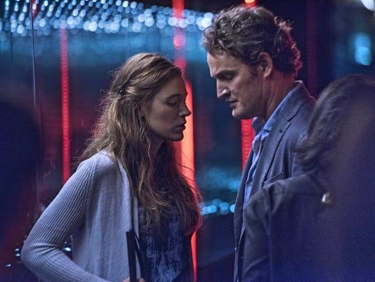 James (Jason Clarke) likes to take care of Gina (Blake