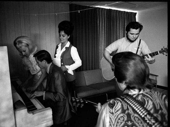A rehearsal at Blue Angels Records. By Michael Coers,