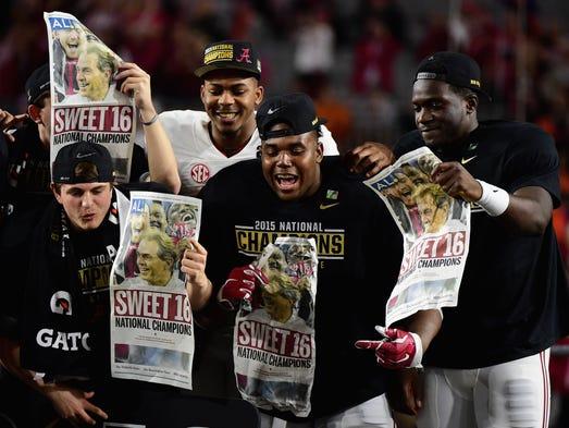 Alabama ganó su 4to título nacional del fútbol americano