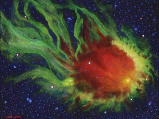 """""""Emerald Nubula"""" by Jo-an Smith."""