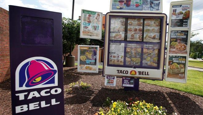 A Taco Bell restaurant in Richmond, Va.