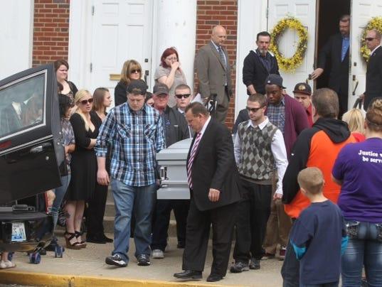Samantha Ramsey's funeral