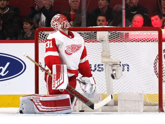 Sad Red Wings, Jared Coreau