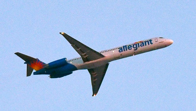 Allegiant Air serves the St. Cloud Regional Airport.
