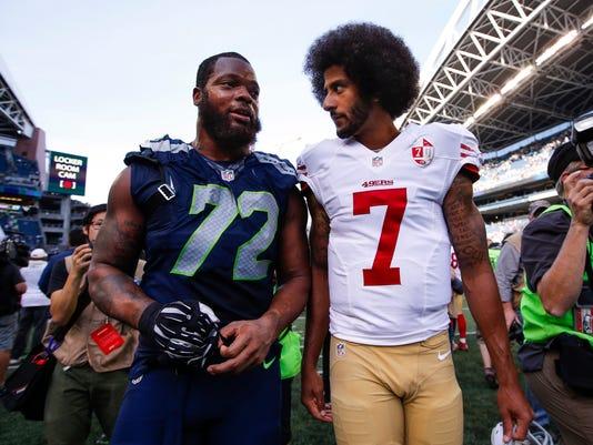 USP NFL: SAN FRANCISCO 49ERS AT SEATTLE SEAHAWKS S FBN USA WA