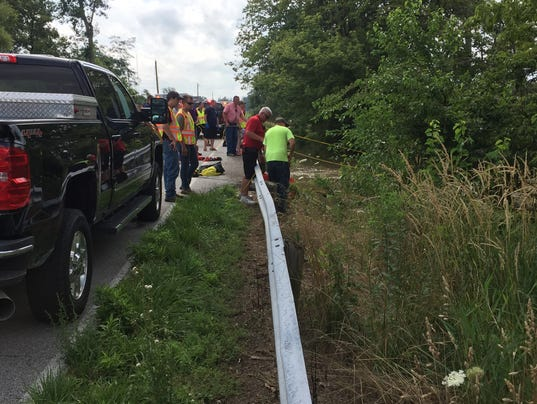 Lindsey Fire rescues boy from creek