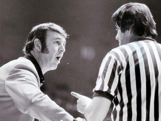 1/15/1975 -- Bobby Leonard. Photo by Gary Moore