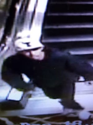 Sparks police are searching for a suspect that allegedly robbed a victim at gunpoint.