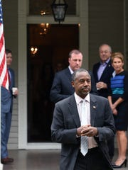 Republican presidential candidate Dr. Ben Carson at