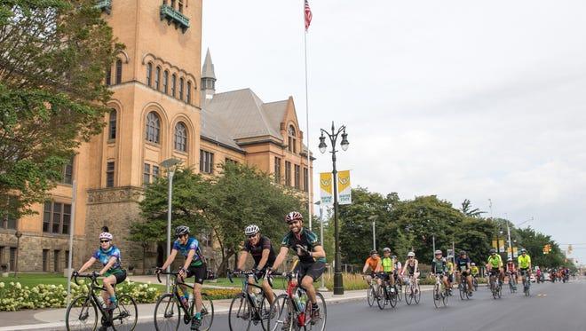 wayne state university barodeur cycling event
