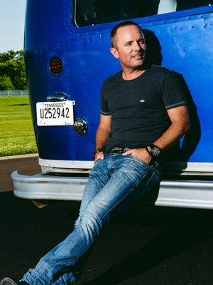 """Singer Chris Tomlin comes to Bon Secours Wellness Arena Thursday with his """"Love Ran Red"""" tour."""
