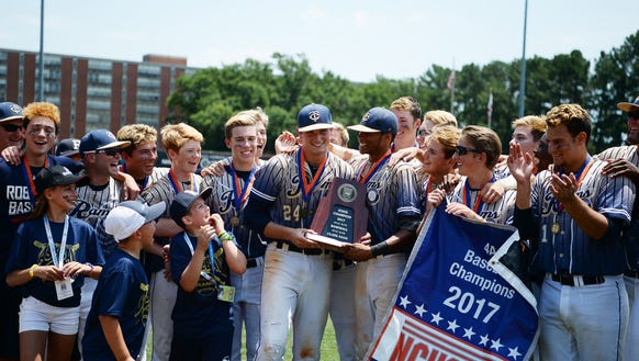 Roberson defeated New Hanover 10-4 to become state