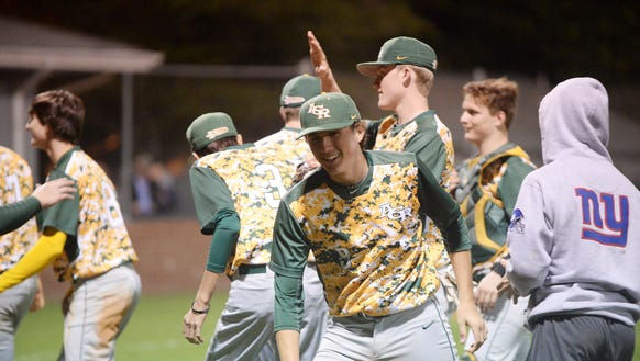 Reynolds defeated West Henderson April 27, 2018, in